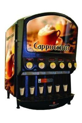 Used Cecilware Grindmaster 6-Flavor Powdered Beverage Machine, Model PIC-6