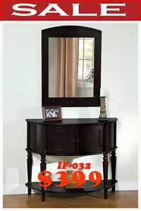 IF 0-32, console makeup vanities, meuble valeur, mvqc, on sale