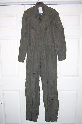 Nomex Flyers Coveralls Flight Suit 42R CWU-27P 42 Regular, Nice