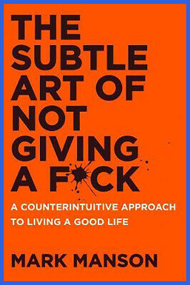 The Subtle Art of Not Giving a F*ck (electronic version) 📩 Fast Shipping 📩