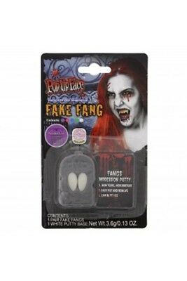 Halloween Fake Fang Scary Fake Gory Bloody Costume Party Accesories - Bloody Gory Halloween Costumes
