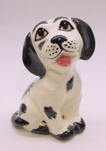 ENGLAND,  Happy Puppy Dog Pie Bird Vent Lownds-Pateman Babbacombe Pottery