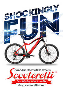 Electric Bike - Electric Bicycles Banff - Canmore - Scooteretti