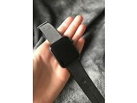 Apple Watch Series 2 42mm Space Grey Aluminium Wowen Nylon Black...