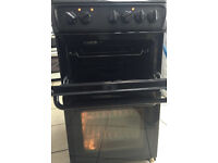HOTPOINT ceramic electric cooker like new 50cm wide tested 100% wit with warranty
