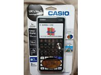 Casio fx-CG50 graphical calculator (mint)