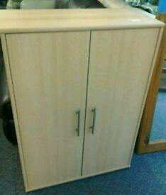 Cabinet with shelving and doors #34310 £35
