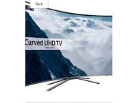 """43"""" Samsung Curved HDR 4K Ultra HD Smart TV, with Freeview HD,"""