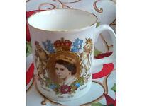 bone china diamond jubilee mug