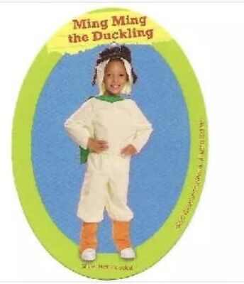 New Wonder Pets Ming Ming Duck Dress Up Costume Size 2T-4T Toddler Halloween
