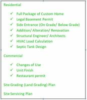 Architect/ Engineer/ Blue Print/ Building Permit