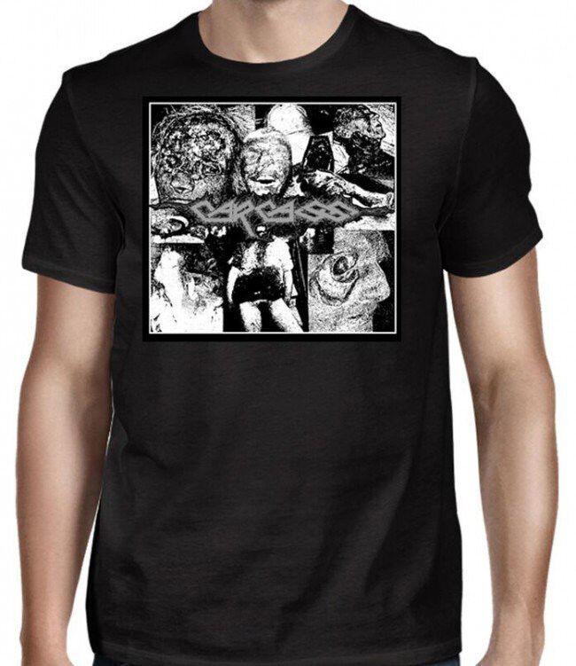 New Carcass Reek of Putrefaction Album Cover Shirt (SML-2XL) badhabitmerch