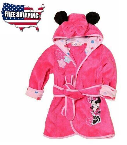 New Fashion Designs Hooded Animal Modeling Pink Bathrobe Cartoon Baby Towel