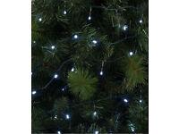 120 Ice White LED String Lights