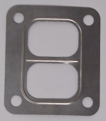 Usa 4 Flange (T4 TURBO MANIFOLD INLET FLANGE GASKET TWINSCROLL DIVIDED 304 STAINLESS Steel)