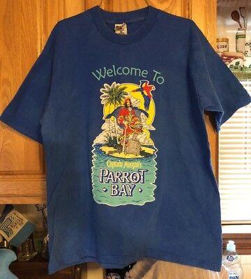 Welcome To Captain Morgan's Parrot Bay XL Shirt Rare