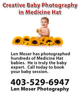 Creative Baby Photography in Medicine Hat