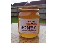 Pure Raw Honey 16oz