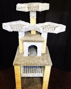 Custom Cat Condo, Cat Tree, Pet Stairs, Dog Houses and More