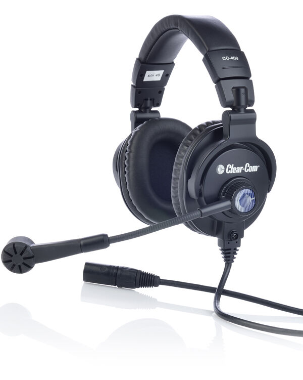 Clear-Com CC-400-X4 Double-Ear Headset