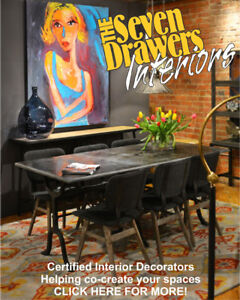Interior Decorator/Professional Photos —We help sell your home!