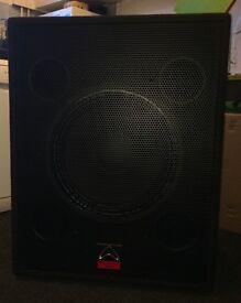 "Wharfedale Pro EVP-18SB 18"" Sub bass bin"