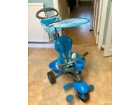 Original 3 in 1 blue Smart Trike. Excellent Condition. Everything Included
