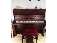 Berry London Acoustic Piano Needing a New Home, South London, SW4, SW9, Lambeth, Collection only