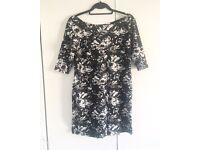 2 Patterned Off The Shoulder Dresses (size 16)