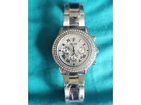 Mens Ice Rolex Watch