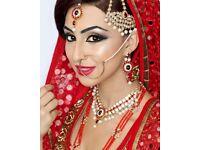 asian bridal makeup artist in London, bedford, luton, St Albans,Milton Keynes,Northampton,Cambridge