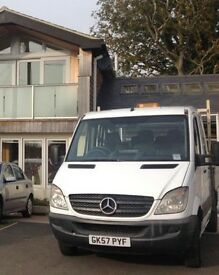Mercedes Benz Sprinter 2007 Automatic 7seater Crew cab pickup/drop side