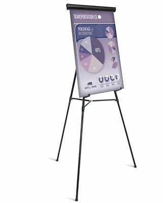 Universal 43034 Heavy Duty Presentation Easel Black Metal 69-Inch Maximum Height