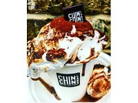chefs,front of house, baristas, scoopers for nitro ice cream parlour in London part-time & full-time
