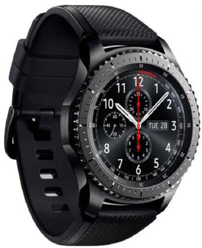 Samsung Gear S3 Frontier Smartwatch 46mm Dark Grey SM-R760NDAAXAR