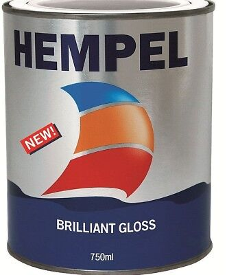 HEMPEL BRILLIANT GLOSS ENAMEL 750ML MARINE BOAT YACHT TOPCOAT PAINT ALL COLURS