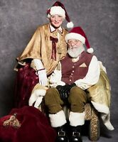 Jolly Santa Claus (& optional Mrs Clause!)