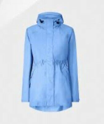 HUNTER ORIGINAL Blue Lightweight Smock Forget Me Not Size S 8/10 RRP: £225