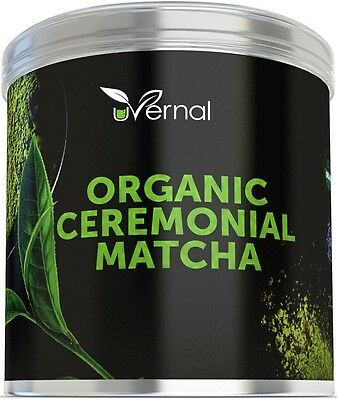 ❤❤❤ Ceremonial Grade USDA Organic Matcha Green Tea Powder No Sugar Added 2 Oz