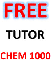 FREE TUTOR FOR CHEM 1000 COURSE AT YORK
