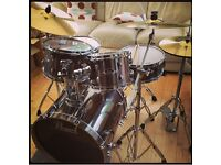Pearl Export Drum Kit and Cymbals