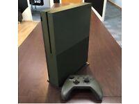 Xbox One S 1 Tb Military Green - Like New