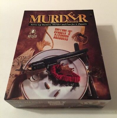 Vintage Murder Ala Carte  Bullets   Barbecue  By Bepuzzled   1994 Ed   Complete