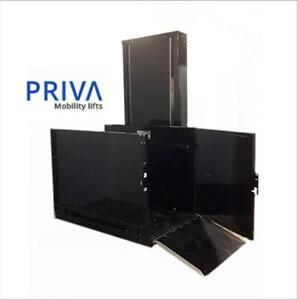 Need a Platform lift ? Priva Mobility Vertical Platform Lift - New and Used available - 1-844-92-PRIVA