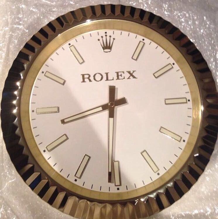 Rolex wall clock, Classic model, Large metal clock