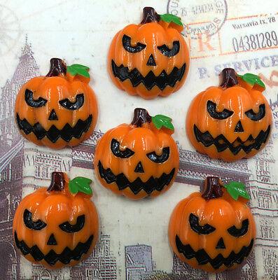DIY 4/20/40/80pcs Halloween Pumpkin Flatback Resin Cabochon Scrapbooking/Crafts](Diy Halloween Pumpkins)
