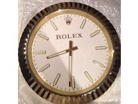 Rolex classic fluted bezel wall clock Limited Edition