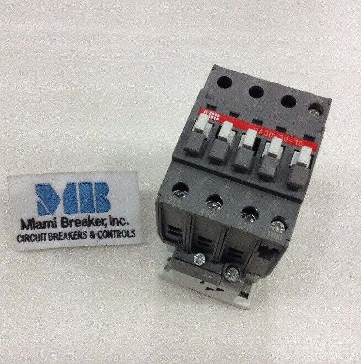 ABB UA30-30-10 Contactor 3 Pole 65A 230V 1 YEAR WARRANTY!!!
