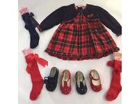 Tartan Dresses Age 12 mths, 18 mths & 24 mths BNWT