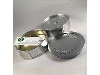 100ml self seal tins (3.5) capacity